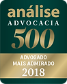 Selo Analise advocacia 2018- SBP - Santiago, Bega & Petry Advocacia