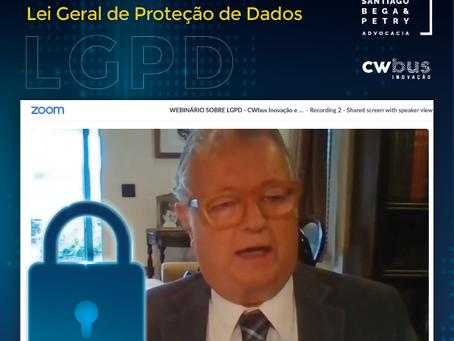 Webinário Lei Geral de Proteção de Dados