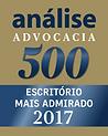 Selo Analise advocacia 2017- SBP - Santiago, Bega & Petry Advocacia