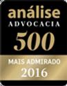 Selo Analise advocacia 2016- SBP - Santiago, Bega & Petry Advocacia