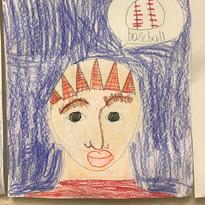 Self Portrait, 2nd grade