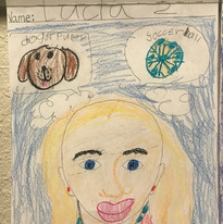 Self Portrait 2nd grade