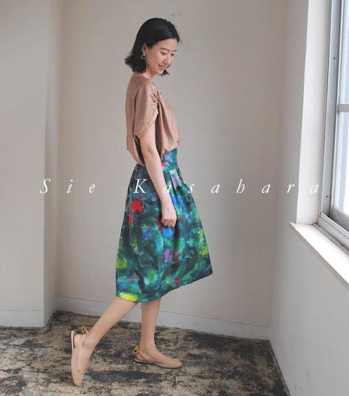skirt A (flower garden)