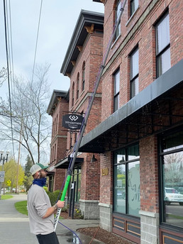 Window Cleaning and Gutter Cleaning Bellingham, WA
