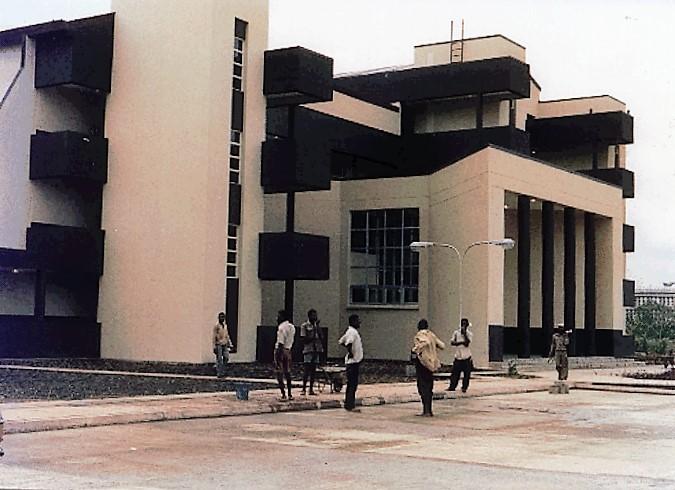 Law Faculty Complex, UNIBEN (Left-Side V