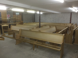 Stained Pews