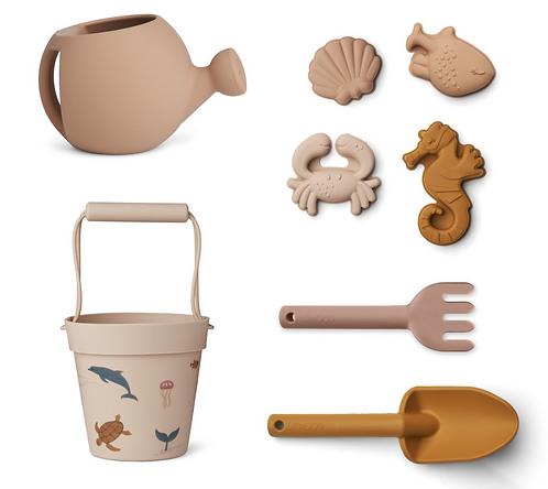 Strandspielzeug-Set 'Sea Creatures Rosa'