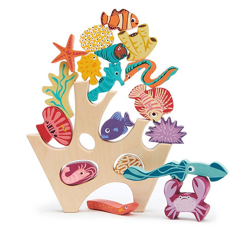 Stapelspiel Korallenriff