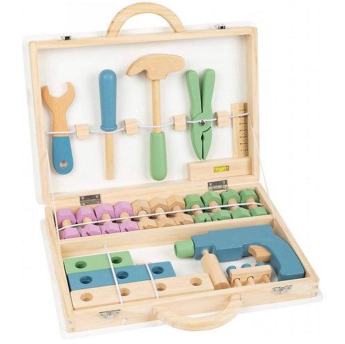 Pastell Werkzeugkoffer