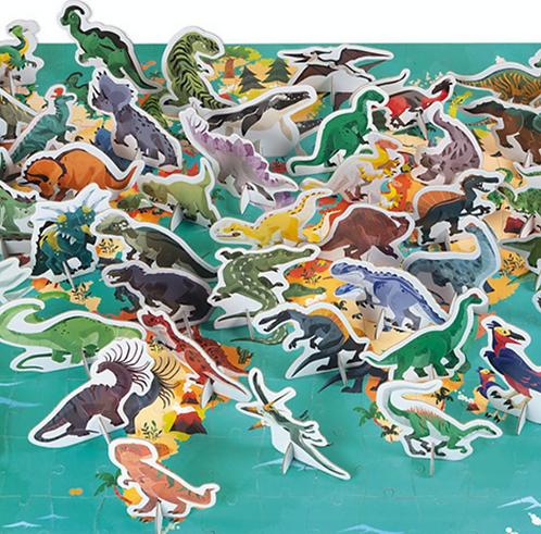 Edukativ-Puzzle 'Dinosaurier'