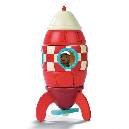 Magnetischer Bausatz Rakete