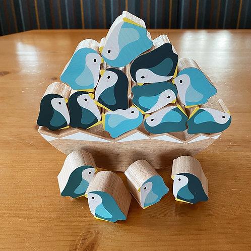 Geschicklichkeitsspiel Pinguin
