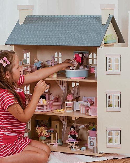 Puppenhaus möbliert