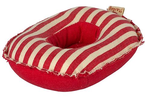 Maileg Schlauchboot mit roten Streifen