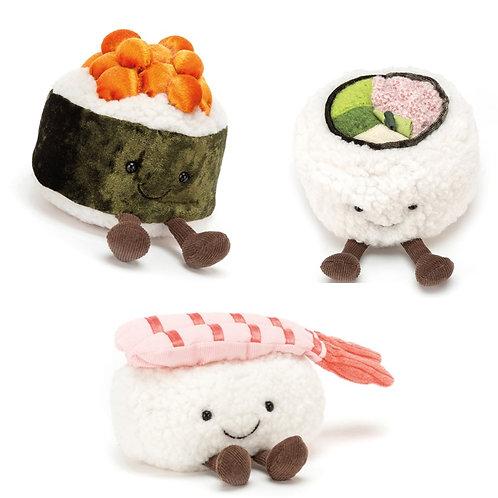 Kuscheltier Sushi (California/Maki/Nigiri)