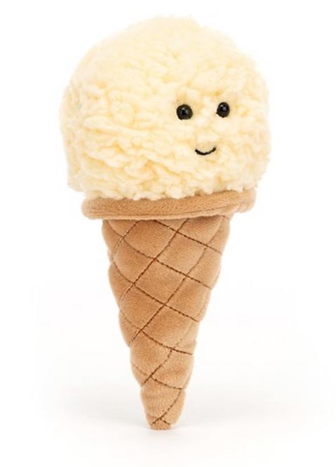 Kuscheltier Ice Cream Vanille