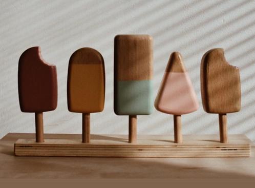 Holz Eis