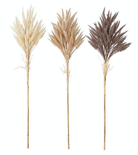 Deko-/Kunstblumen-Set, naturfarben, H80 cm, 3-tlg.