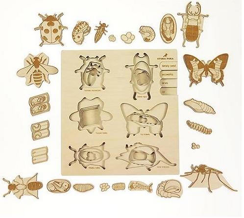 Insekt Puzzle