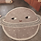 Thumbnail: Planet Kinderteppich, 100 x 116 cm