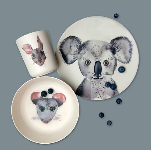 Koala Bambus Set
