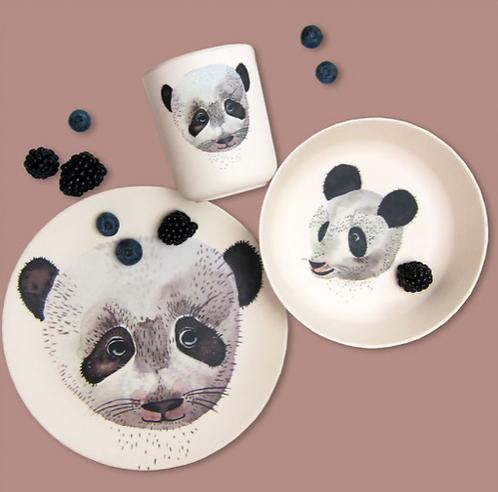 Panda Bambus Set