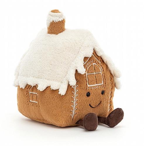 Kuscheltier 'Gingerbread House'