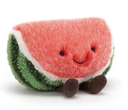 Kuscheltier Wassermelone