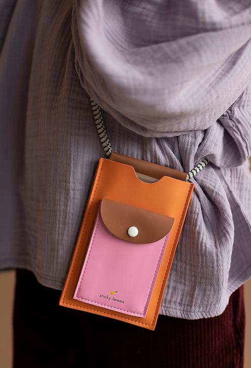 Telefon Tasche Orange