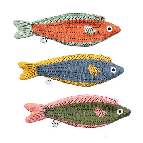 Geldbörse 'Fusilier fish'