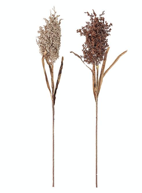 Deko-/Kunstblumen-Set, naturfarben, H90 cm, 2-tlg.