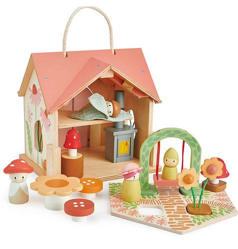Puppenhaus Villa Rose