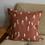 Thumbnail: Kissenbezug Embroidiert 'Tall' Terracotta
