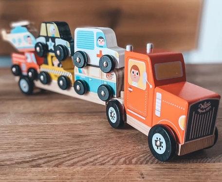 Steckspiel Truck