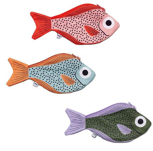 Geldbörse 'Sweeper fish'