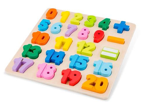 Puzzle Zahlen '123'
