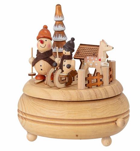Spieluhr aus Holz