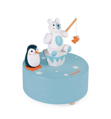 Steckdose Eisbär Pinguin mit Musik