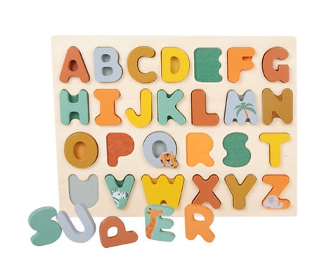 Puzzle Alphabet 'ABC'