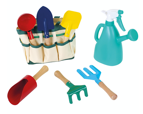 Garten-Tasche mit Gartenwerkzeug