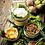 Thumbnail: Vintage - thailändischer Etagen-Essenträger/Henkelmann, emailliert