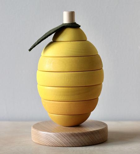 Stapelturm Zitrone