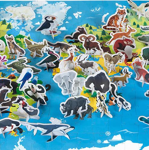 Edukativ-Puzzle 'Prioritäten Arten'