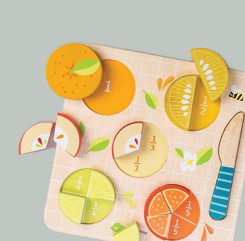 Citrus Holzpuzzle