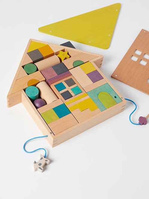 Tsumiki Holzhaus-Bausteine