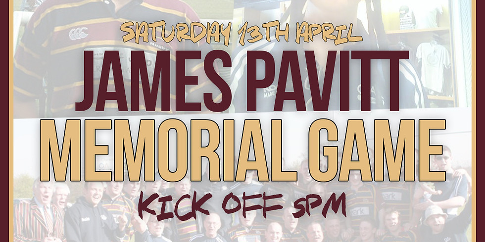 The James Pavitt Memorial Game