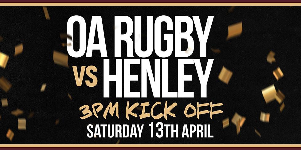 OA vs Henley | LAST HOME GAME