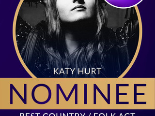 Shortlisted for Best Country/ Folk UMA!