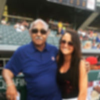 Vanessa Richardson and Cubs Legend Billy Williams