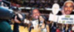 Vanessa Richardson University of Indianapolis Pacers Emcee